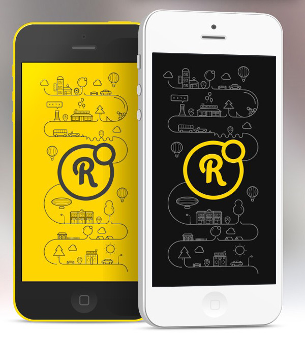 1.Mobile App Design Inspiration – Round