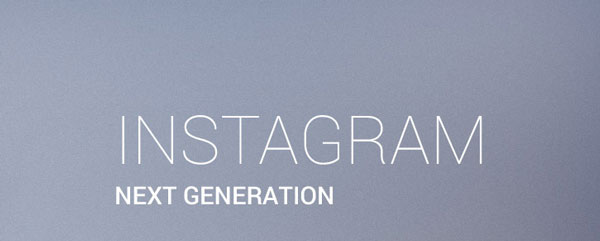 1.Mobile App Design Inspiration – Instagram  Next generation
