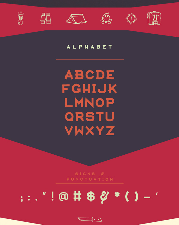 2.Free Font Of The Day  Aventura