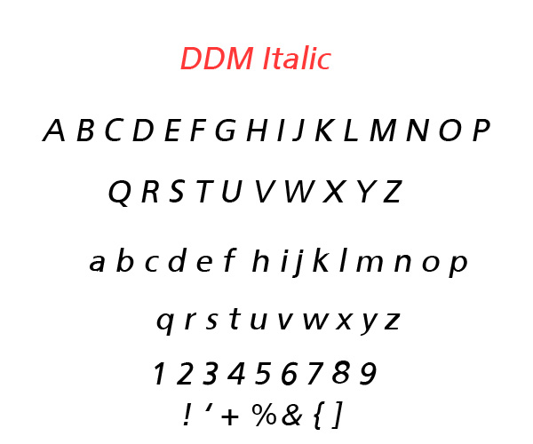 4.Free Font Of The Day  DDM