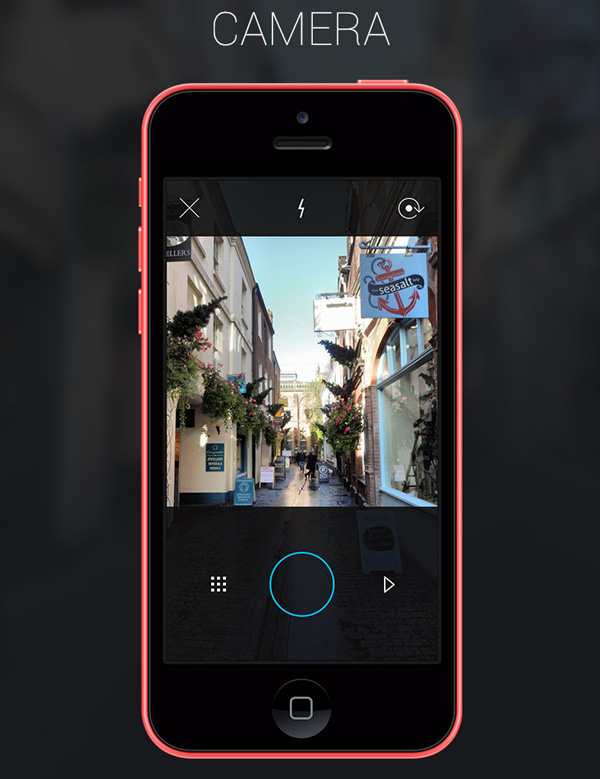 5.Mobile App Design Inspiration – Instagram  Next generation