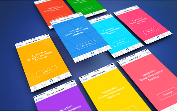 6.App Screen Presentation Mockups