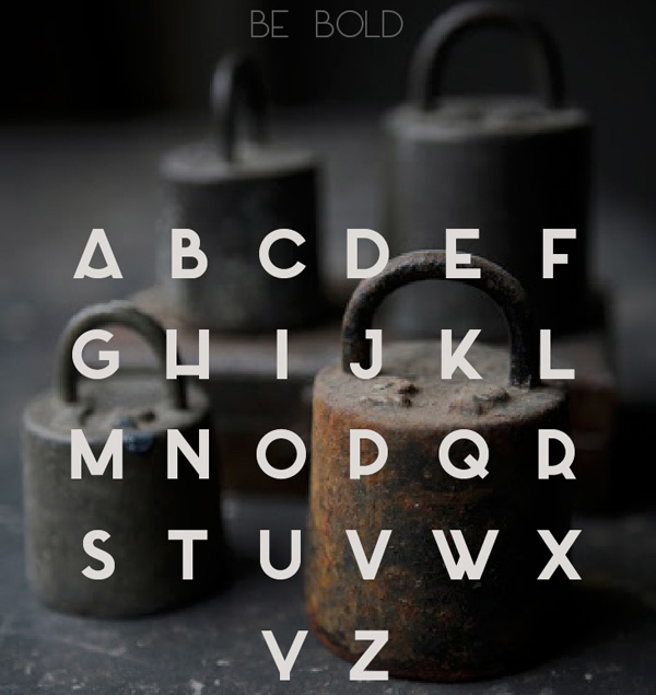 6.Free Font Of The Day  Azedo