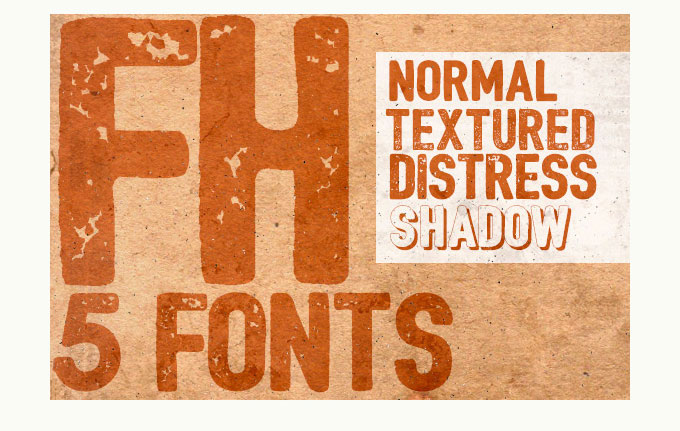 9.Free Font Of The Day  Bushcraft