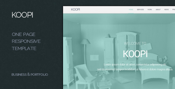 koopi-one-page-flat-creative-theme
