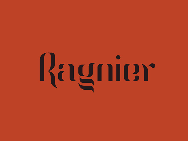 1.Free Font Of The Day  Ragnier