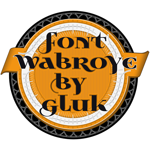 1.Free Font Of The Day  Wabroye