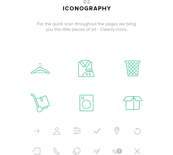 1.Mobile App Design Inspiration – Cleanly