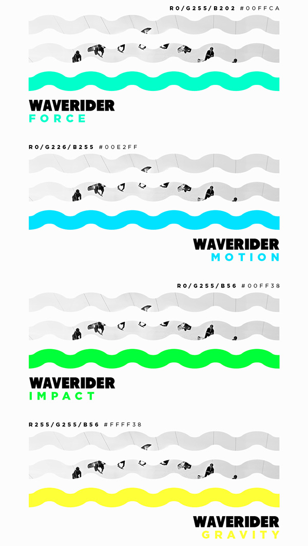 1.Visual Identity and Branding Series  WAVE RIDER