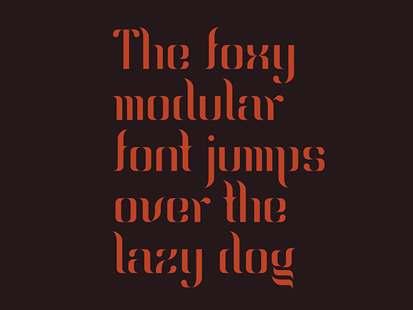 2.Free Font Of The Day  Ragnier