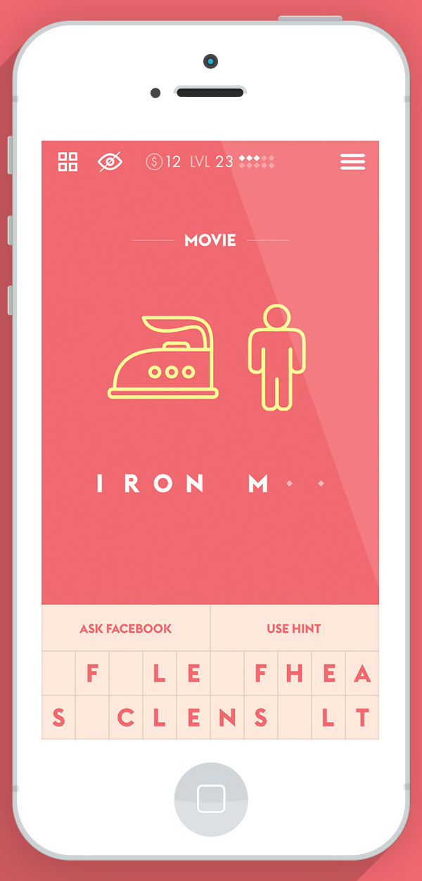 2.Mobile App Design Inspiration – Iconic