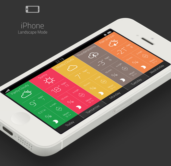 2.Mobile App Design Inspiration – Outside The Window