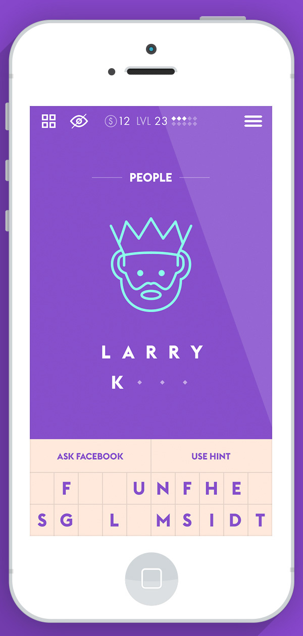 3.Mobile App Design Inspiration – Iconic
