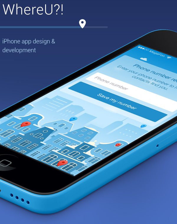 3.Mobile App Design Inspiration – WhereU