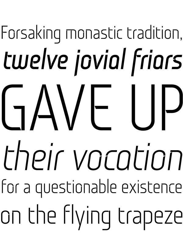 4.Free Font Of The Day  Monitorca