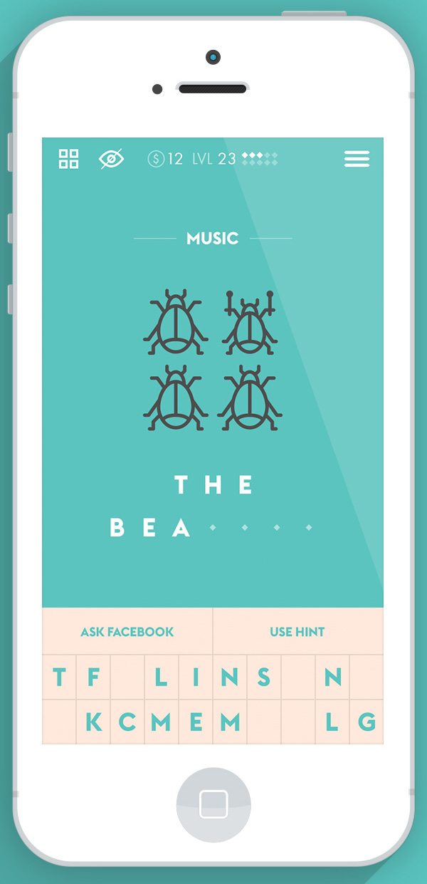 4.Mobile App Design Inspiration – Iconic