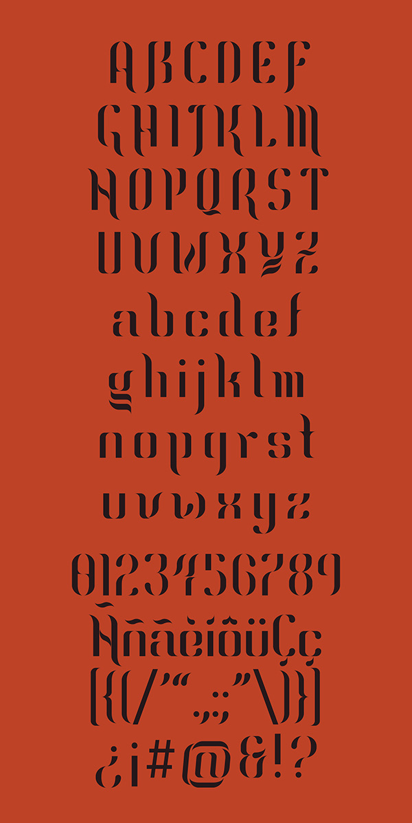 5.Free Font Of The Day  Ragnier
