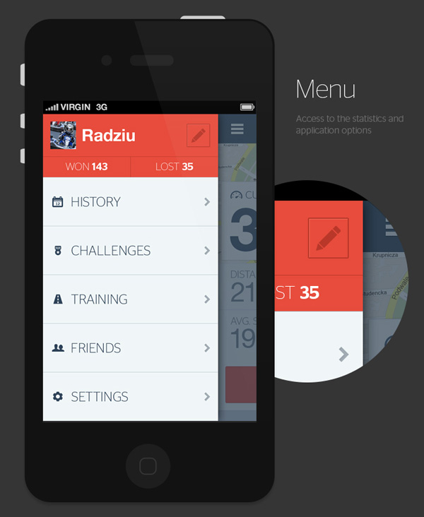5.Mobile App Design Inspiration – Bike now