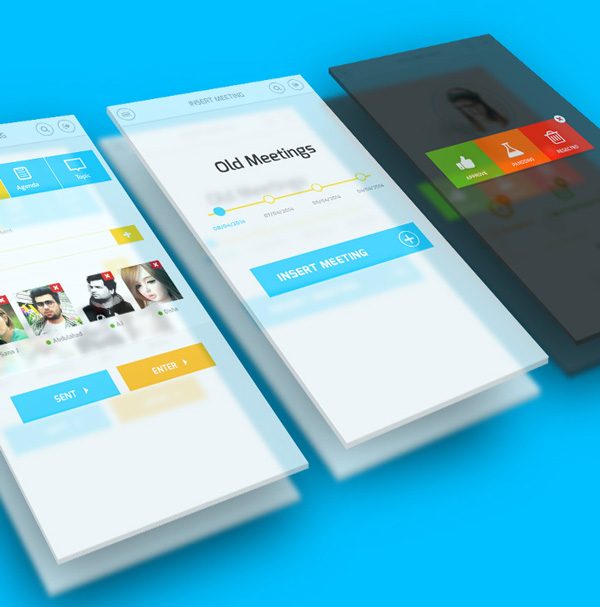 mobile app design inspiration oxbix - App Design Ideas