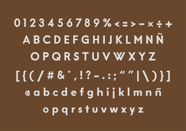 Brown bold font free download
