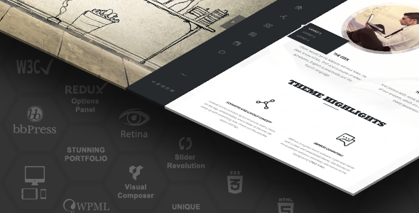 Creative responsive multi-purpose theme