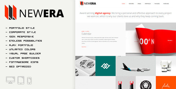 Portfolio and Business Theme