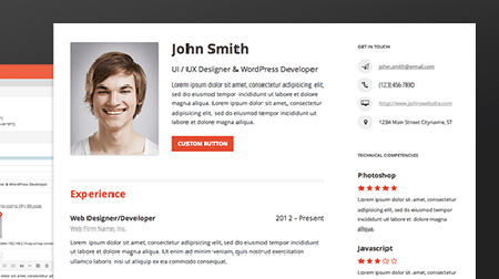 resume builder a wordpress plugin to build out your complete resume