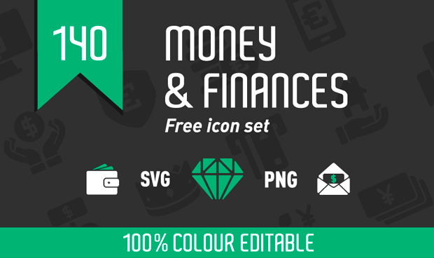 money-and-finance-icon-set