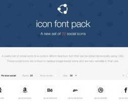 preview-icon-font-pack-social