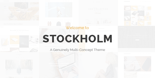 wordpress Multi Concept Theme