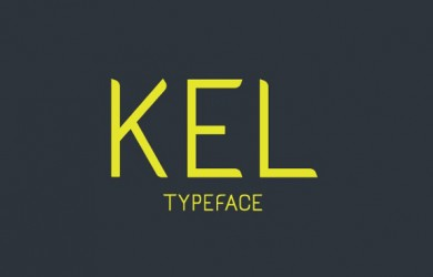 1.Free Font Of The Day  Kel