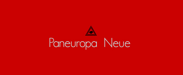 1.Free Font Of The Day  Paneuropa Neue