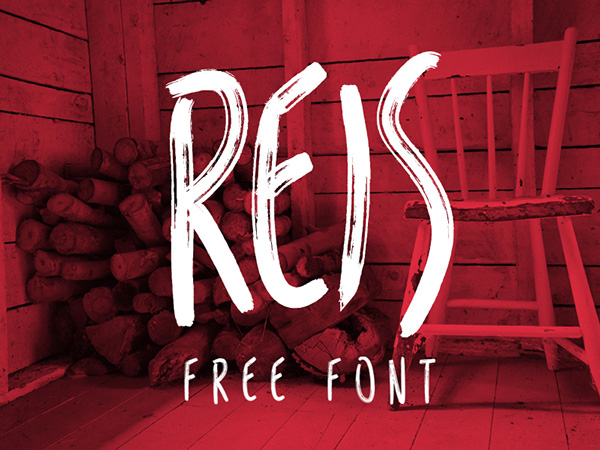 1.Free Font Of The Day  Reis