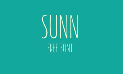 1.Free Font Of The Day  SUNN
