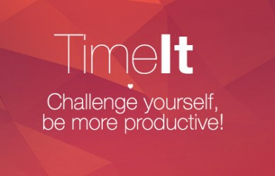 1.Mobile App Design Inspiration – TimeIt