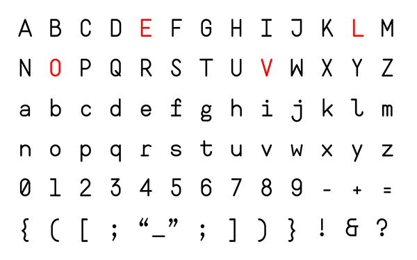 2.Free Font Of The Day  Ahamono