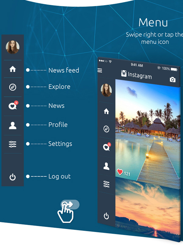 2.Instagram Redesign