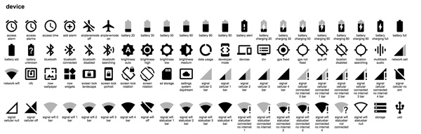 2.Material Design Icons