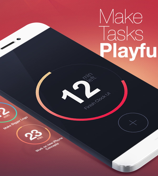 2.Mobile App Design Inspiration – TimeIt