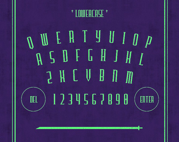 3.Free Font Of The Day  Furgatorio