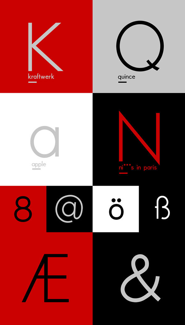 3.Free Font Of The Day  Paneuropa Neue