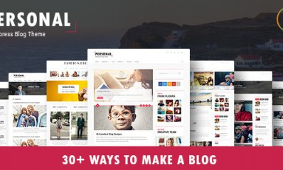 Best Blog, CV and Video WordPress Theme