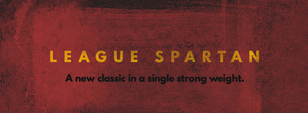1.Free Font Of The Day  League Spartan