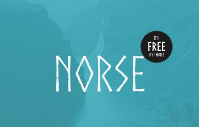 1.Free Font Of The Day  Norse
