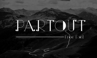1.Free Font Of The Day  Partout