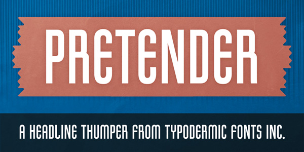 1.Free Font Of The Day  Pretender