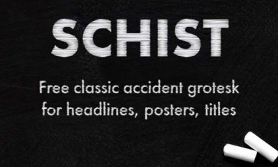 1.Free Font Of The Day  SCHIST