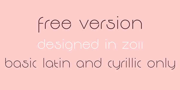 2.Free Font Of The Day  Decomart FF