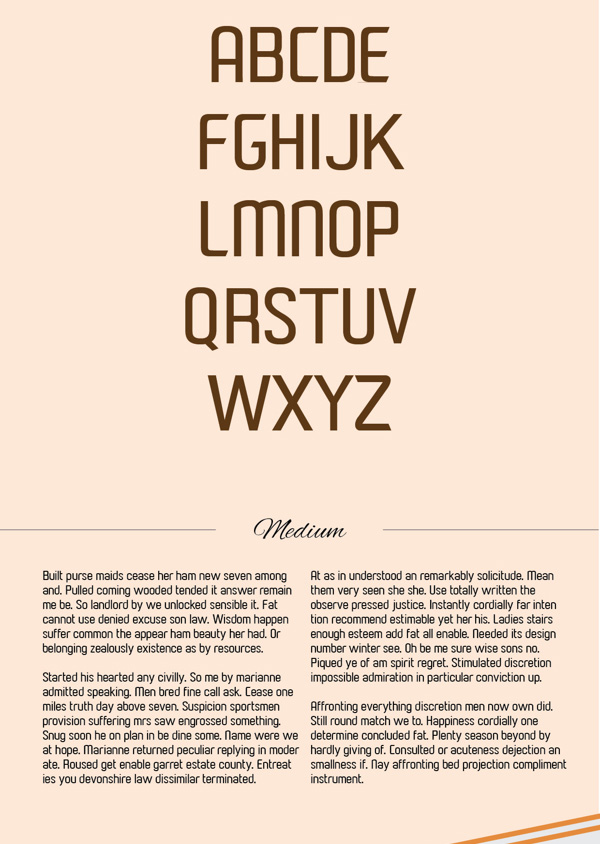 2.Free Font Of The Day  Paragon