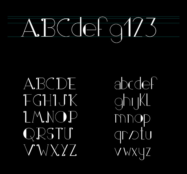 2.Free Font Of The Day  Partout